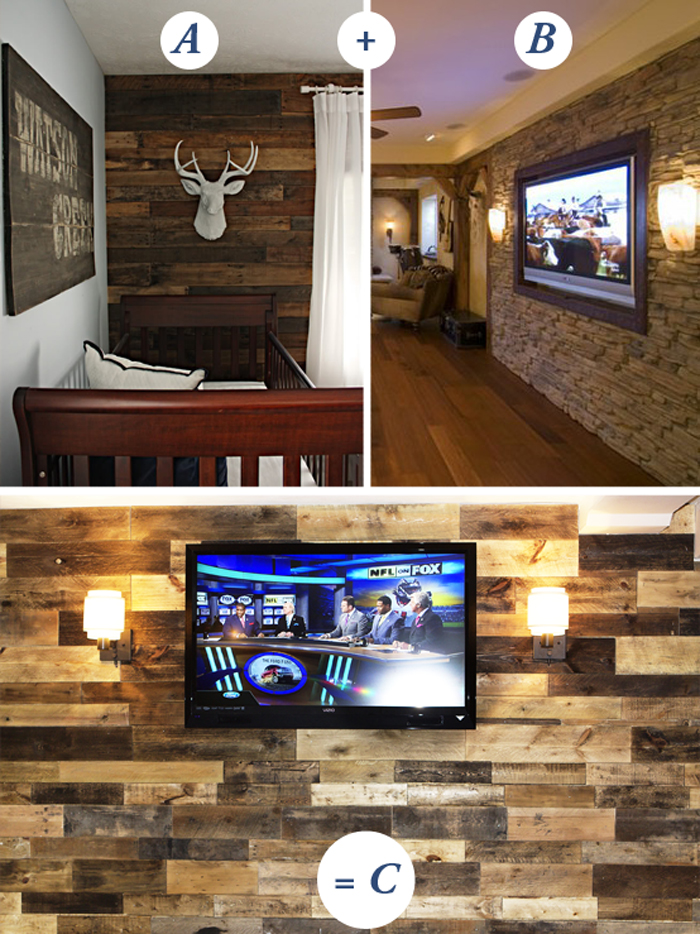 Man Cave Bar Out Of Pallets : Wo man cave ivy in the bay