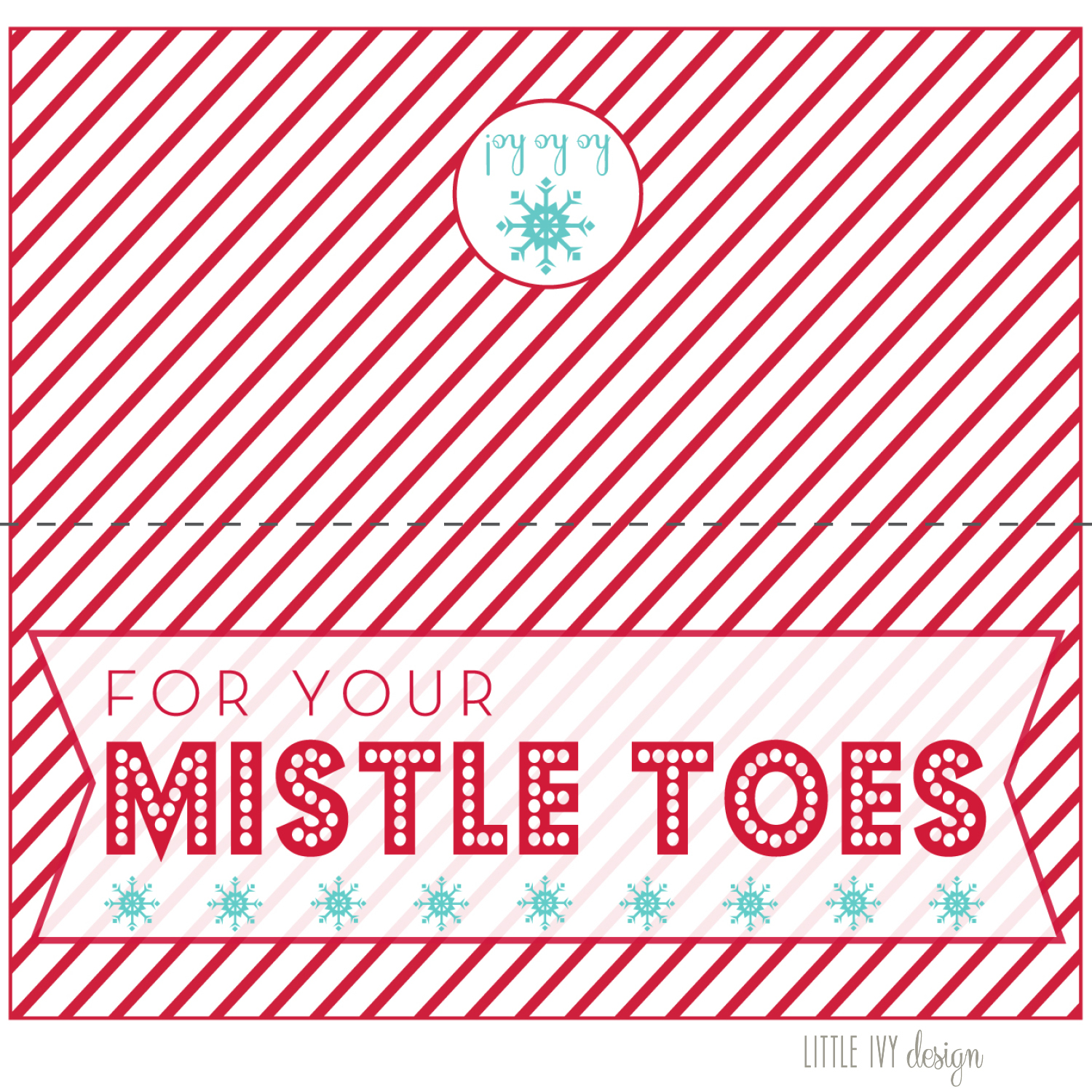 Lucrative image in for your mistletoes printable