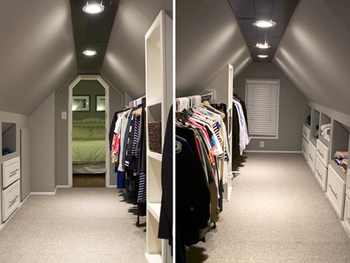 Our Attic Closet Transformation By My Lovely Husband, Number Cruncher By  Day..contractor